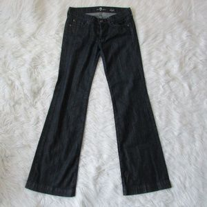 7 for All Mankind DOJO Jeans Rhinestones sz 28